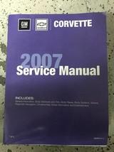 2007 CHEVY CORVETTE Service Shop Repair Workshop Manual Volume 1 Only Body - $44.50