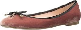 $198 Kate Spade Willa Velvet Ballet Flats (US 8.5 ) worn 1x - $36.45