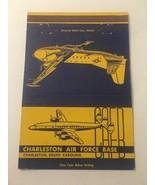 Vintage Matchbook Cover Matchcover Charleston US Air Force Base SC - $5.70