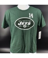 NFL New York Jets #14 Sam Darnold Tee Shirt Size Youth LG 14/16 NEW W/Ta... - $14.99