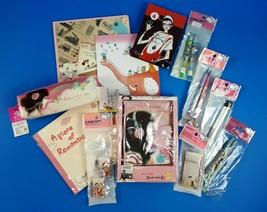 Kawai Stationary Kit Note Books Pens Pencils Erasers Pencil Case Agenda - $21.49