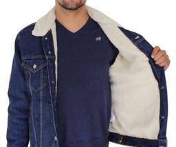 Levi's Men's Premium Button Up Denim Fleece Lined Jeans Jacket 72336001 size L image 5