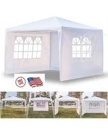 10'x10' Three Sides Waterproof Wedding Tent Canopy - $65.99