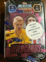 Topps Match Attax Champions League 2020/2021 Mega Tin Box-Wild Cards - 6... - $27.83