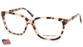 New Michael Kors MK8018 Sabina Iv 3155 Pink Havana Eyeglasses Frame 54-15-135mm - $67.61