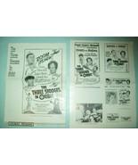 """The Three Stooges in Orbit"" (1962) - Original Movie Pressbook - $98.00"
