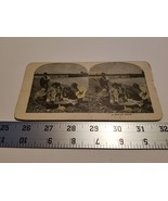 Home Treasure A Mud-Pie Party Stereoview Card Children Ocean Horse Buggy... - $23.74