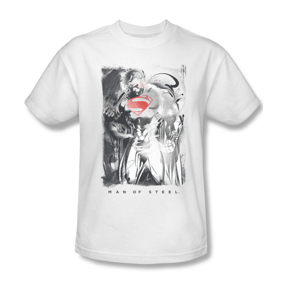 Superman man of steel dc comics superhero for sale online graphic tee sm2107 at