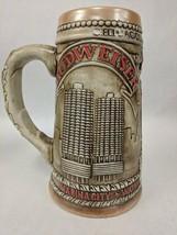 CERAMARTE VINTAGE BUDWEISER STEIN DRINKING MUG STONEWARE SOUVENIR CHICAGO - $39.59