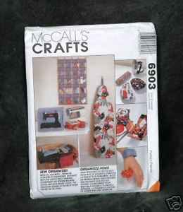 "Primary image for McCall's Pattern  #6903 ""Sew Organized"" For your wall, Ironing Board Cover, Mach"