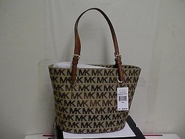 Womens Michael kors jet set mid tote shoulder handbag  - $108.85