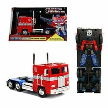 TRANSFORMERS G1 HOLLYWOOD RIDES OPTIMUS PRIME 1/24 SCALE DIECAST VEHICLE - $41.18