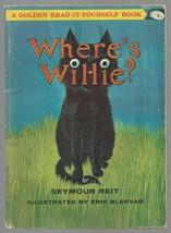 WHERE'S WILLIE ?  golden read it yourself book  Seymour Reit  pb  1963 e... - $19.26