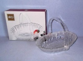 Mikasa Winter Dreams Basket Candy Dish SA951/925 New in Box - $9.99