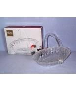 Mikasa Winter Dreams Basket Candy Dish SA951/925 New in Box - $9.99