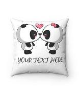 Cushion Cover - Kissing Panda - $29.99+