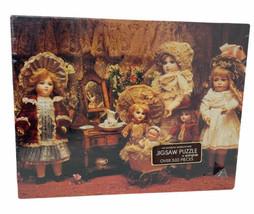 Vintage Springbok Fancy Frilly Dolls 500-Piece Jigsaw Puzzle New Sealed - $17.00