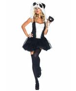 LEG AVENUE PLAYFUL PANDA ADULT HALLOWEEN COSTUME WOMEN'S SIZE M/L - $37.04