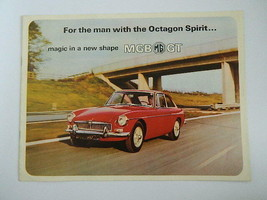 Vintage MG MGB GT Car Brochere by The British Motor Corp. - $24.99