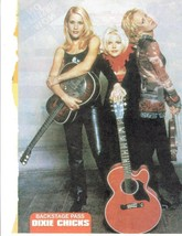 Dixie Chicks teen magazine pinup clipping Bop J-14 Tiger Beat Country Group