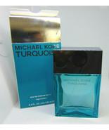 MICHAEL KORS TURQUOISE Woman Eau de Parfum Spray 100ml / 3.4oz NIB - $48.51