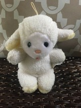 VINTAGE EDEN RATTLE LAMB SHEEP STUFFED PLUSH  - $49.49