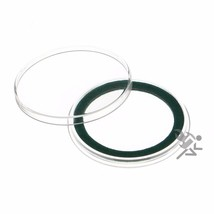 Air-Tite 38mm Green Velour Ring Coin Capsule Holders, 25 Pack - $22.95