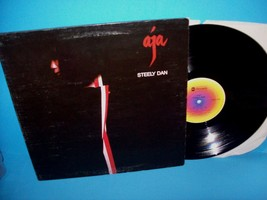 Steely Day AJA Vinyl LP Record Album 1977 Pop Jazz Rock Foldout Cover - $7.08