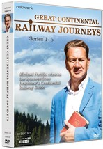 Great Continental Railway Journeys Series 1-5 DVD *REGION 2 PLEASE READ ... - $52.95
