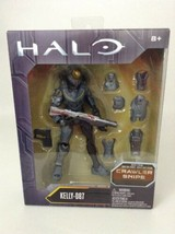 Mattel Halo Build A Figure Kelly - 087 Crawler Snipe Forerunner Series 2... - $24.01