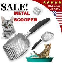 Cat Litter Scoop Deep Shovel Metal Scooper Sifter Strainer Cleaner Tool ... - $14.99