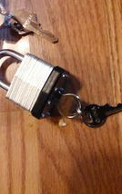 3 Padlocks with keys - Mixed Lot - FREE SHIP image 3