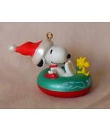 2011 Peanuts Winter Fun with SNOOPY Hallmark Keepsake Ornament w/BOX #14... - $30.00