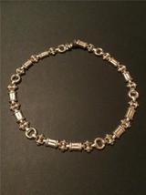 """Vintage Sterling Silver.925  Custom Link Necklace 16 """" 95 grams - $450.00"""