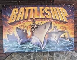 2002 Milton Bradley Battleship Classic Naval Combat Game Hasbro - $9.90