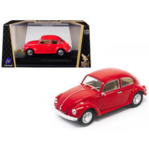 1972 Volkswagen Beetle Red 1/43 Diecast Model Car by Road Signature 43219r - $35.19