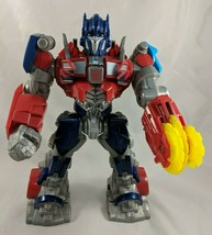 "Hasbro Transformers Optimus Prime Talks Saw Blade 11"" Tomy - $17.23"