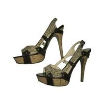 GUESS Monogram High Heels  - $44.55
