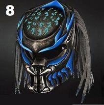 Predator Motorcycle Helmet Blue Sky (Dot / Ece Certified) - $355.00