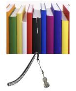 Violin Pewter Emblem Pattern bookmark for books organisers codeWS5 - $10.38