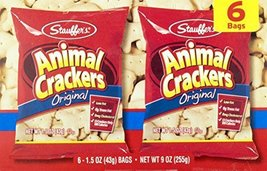 Stauffers Animal Crackers & Iced Animal Cookies Variety Pack (3- 6 count... - $20.19