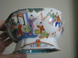 Chinese Export Porcelain Footed Bowl Jiaqing - $199.00