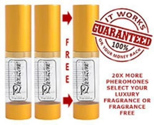WOMEN 3 BOTTLE Lot ULTRA CONCENTRATED Pherazone SCENTED Pheromone 108mg Spray