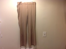 Used Great Condition New York And Company Khaki Stretch Pants Size 12