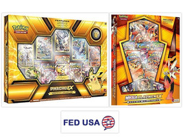 Pikachu EX Legendary Collection + Mega Blaziken EX Box Pokemon TCG - $139.99