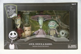 The Nightmare Before Christmas Lock Shock & Barrel Deluxe Doll Set - $61.75