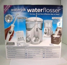 Waterpik Water Flosser Ultra and Nano Compact Open Box NEW Complete - $43.95
