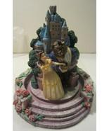 Disney Beauty and the Beast Castle Figurine  Globe Dome - $57.00