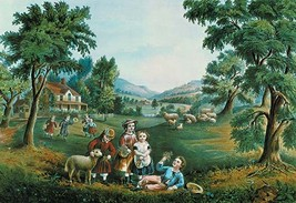 Four Seasons by Nathaniel Currier - Art Print - $19.99+