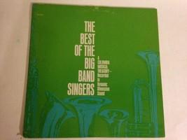 Album LP Vinyl 33 RPM THE BEST OF THE BIG BANDS & SINGERS - $27.67